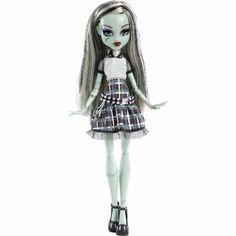 Boneca Monster High Frankie Choque Eletrizante Mattel R$ 179.99
