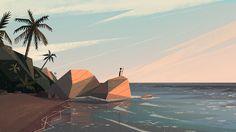 Seagazing on Behance — Benjamin Flouw