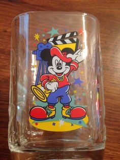 NEW**McDonald's 2000 Walt Disney World Celebration Glass-Disney Studios