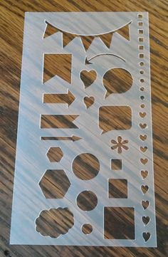 Hey, I found this really awesome Etsy listing at https://www.etsy.com/listing/273756932/planner-stencil-perfect-for-personal