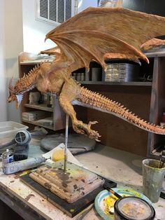 Weird Creatures, Fantasy Creatures, Mythical Creatures, Fantasy Dragon, Dragon Art, Fantasy Art, Dragon Project, Giant Animals, Legendary Dragons