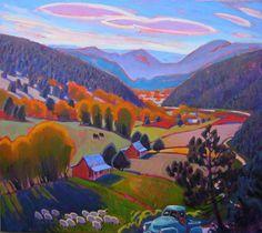 Taos Art Workshops, Artist Leigh Gusterson Landscape Painter