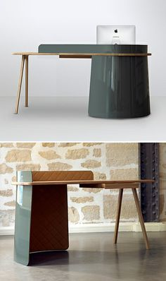 desk by { designvagabond }, via Flickr