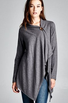 Luxe Button Cardigans