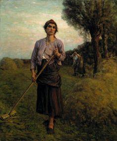 The Gleaner (Jules-Adolphe Breton - 1900)