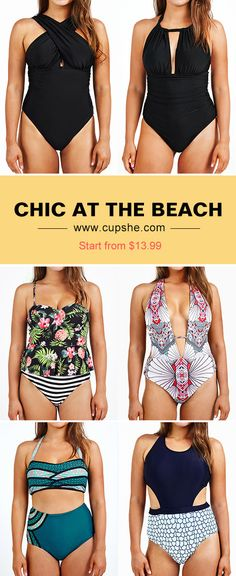 Wanna be hotter this summer? Check the bikinis here from Cupshe. Great quality, fresh design & good service. Cupshe leads life on the beach. Pack one for your summer leave.