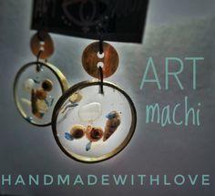 Guarda questo articolo nel mio negozio Etsy https://www.etsy.com/it/listing/510233093/summer-feeling-resin-earrings