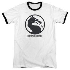 Mortal Kombat X - Seal Adult Ringer T- Shirt