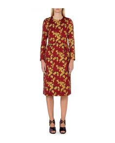 Dries Van Noten 'Dior' Floral Jacquard Dress