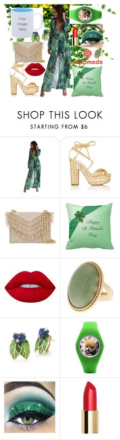 """""""snapmade"""" by meri55 ❤ liked on Polyvore featuring Alchimia Di Ballin, Cynthia Rowley and Lime Crime"""