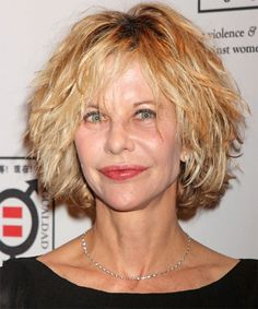 although not the pretties picture of Meg Ryan...this hair style is the one that feels like me....if only.