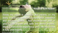 Purpose 829 Health