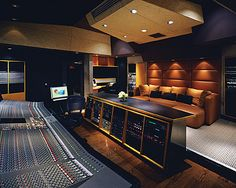 Obviously not a 'house' studio :) At least not my house. Beautiful, like the listening area setup.