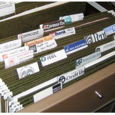 56 Home Filing Systems Ideas Filing System Organization File Organization