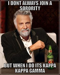 If it's good  enough for the most interesting man in the world, it's more than good enough for me. I love my KKG <3