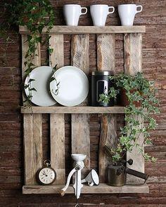 Bygga möbler av lastpallar