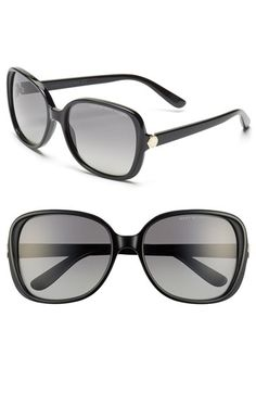 01537165160 MARC BY MARC JACOBS 57mm Polarized Sunglasses available at  Nordstrom Round  Face Sunglasses