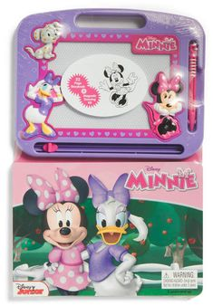 Disney Learn to Draw with Pink Minnie Mouse Book & Etch a Sketch Girl 2013 Kids Activity Books, Activities For Kids, American Girl Doll Room, Minnie Mouse Toys, Etch A Sketch, Kids Makeup, Pink Minnie, Learning Toys, 9th Birthday