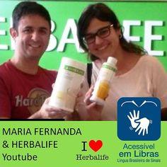 Youtube: http://herba.li/1TNgW8R … aprenda a preparar o Shake Herbalife com Maria Fernanda e veja oportunidade de tenda extra para amigos Surdos #libras #deaf #surdos #linguagemdesinais #vidaativaesaudavel #focoemvidasaudavel #herbalifesurdos