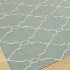 Soho Dhurri Rug in spa blue... new LR rug to go with our new grey couch???
