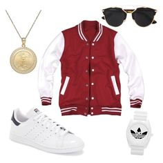 """Untitled #19"" by s-y-littlejohn-sl ❤ liked on Polyvore featuring adidas and Christian Dior"