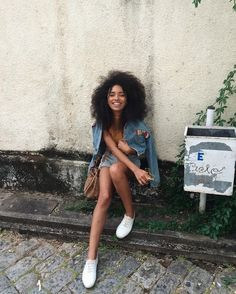 Image about pretty in Curly Chics 💋 by ₙₒₙₐ on We Heart It Black Girl Magic, Black Girls, Black Is Beautiful, Beautiful People, Curly Hair Styles, Natural Hair Styles, Pelo Afro, Pelo Natural, Brown Skin Girls