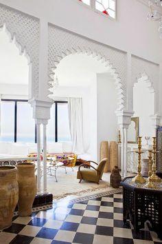 22 Marokkanische Wohnzimmer Deko Ideen-einrichtungsstil Aus Dem ... Innenhof In Marokkanischem Stil Gestalten