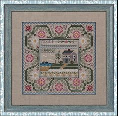 GOES NICELY WITH WINTER IN THE FOREST Summer by the Sea - Cross Stitch Pattern