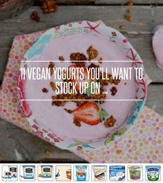 11 #Vegan Yogurts You'll Want to #Stock up on ... → Food #Vanilla