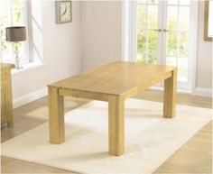 Buy the Tuscany 180cm Solid Hardwood Dining Table at Oak Furniture Superstore