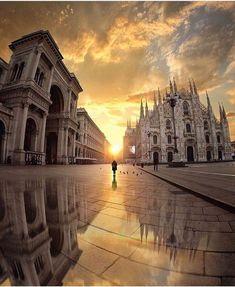 Milano, Italia...❄