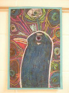 WHAT'S HAPPENING IN THE ART ROOM??: 1st Grade Peacocks