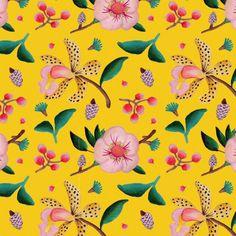 Pattern-Flores-amarillo-2-cuadrado_640 Cool Wallpaper, Pattern Wallpaper, Wallpaper Backgrounds, Iphone Wallpaper, Wallpapers, Textile Patterns, Flower Patterns, Textiles, Print Patterns
