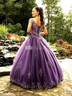 wedding, bridal, gown, dress, cap sleeves, embroidery, beading, ruffle, a-line, floor length, satin, fine netting, prom