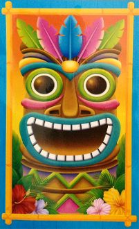 Tropical Island Create Scene Setter TIKI HEAD MASK DOOR COVER WALL HANGING Luau Beach Pool Party Decoration Prop. Multi-Color Hawaiian Tahitian Totem Voodoo Pirate Decor Theme WINDOW MURAL TABLE TOPPER SKIRT CLOTH COVER Indoor Outdoor Party Supplies - http://horror-hall.com/Luau-Prop-TIKI-HEAD-MASK-WALL-DOOR-COVER-WALL-Pirate-Decoration-HH-RG-G24493-TIKI.htm