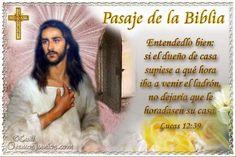 Vidas Santas: Santo Evangelio según san Lucas 12:39