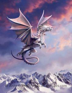 Gothic Fantasy Art, Fantasy Art Women, Gothic Fairy, Beautiful Fantasy Art, Unicorn Fantasy, Fantasy Dragon, Strong Female Characters, Monkey Art, Anne Stokes