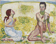 《春Ⅲ》 1907-10年頃、油彩・カンヴァス スイス、個人蔵