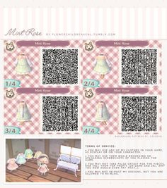 animal crossing new leaf kawaii qr codes - Google Search