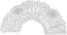 bobbin lace fan pattern - Buscar con Google