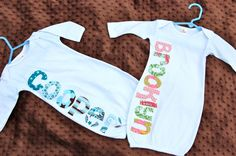Find a Name for your Baby! - Brooklyn Baby Name - Ideas of Brooklyn Baby Name - Twin Set Personliazed Infant Gowns Brooklyn Baby Name Ideas of Brooklyn Baby Name Twin Set Personliazed Infant Gowns Unusual Baby Names, Brooklyn Baby, Baby Gown, Baby Sewing, Baby Fever, Future Baby, Baby Items, Diy Clothes, Cute Babies