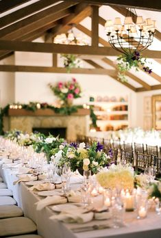Brides: Rustic Wedding Reception in a Cottage :