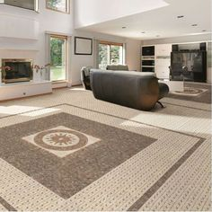 Create a wonderful Moroccan decor with the Cordoba Moorish tiles available in shades of beige or grey. They are made from porcelain and can be used as internal or external floor tiles. If you would like advice on how to use these patterned floor tiles the Direct Tile Warehouse team will be pleased to help.