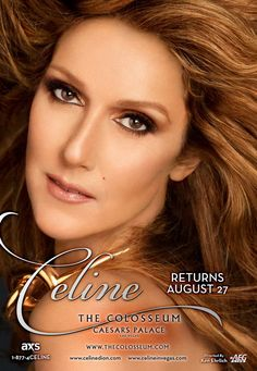 Welcome to St. Zion's Blog: Celine in Las Vegas: August 2015 – January 2016 Sh...