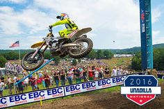 EBC Brakes banners adorn Unadilla National 2016. The event took place New York and was in association with Lucas Oil Pro Motocross Championship.