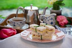 If you're ever tempted to make afternoon tea, these really simple sandwiches look great and taste even better.  #sandwich #afternoontea #tea #relish #irish #lunch Afternoon Tea, Irish, Sandwiches, Lunch, Cheese, Simple, Pretty, Recipes, Food