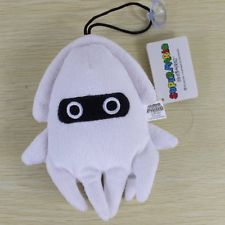 "Super Mario Brothers 6"" Blooper Squid Figure Plush Toy Doll Cute Stuffed Animal"