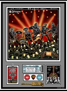 Queens of the Stone Age (QOTSA) World's 1st Selfie Poster by EMEK