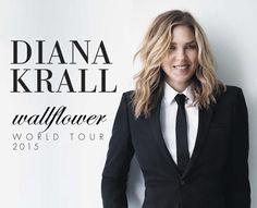 Diana Krall actuará en Septiembre en Madrid y Barcelona. Entradas a la venta el 29/04
