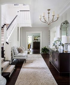 Homestaging O Instagram Photos And Videos Neutral Color Palette In A Formal Entry Foyer
